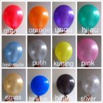 Balon Latex Metalic 12 Inch
