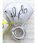Balon Foil Cincin I do