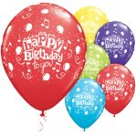 Balon Latex Happy Birthday 12 Inch