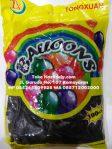 Balon Latex Metalic Hitam 12 Inch Tebal Mengkilap dan Elastis
