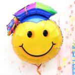 Balon Foil Wisuda Smile | Foil Graduation Smile