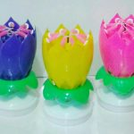 Lilin Bunga | Flower Candle Play Music and Rotate