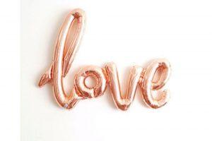 Balon Foil Love Latin Nyambung Jumbo