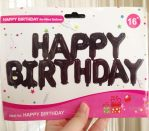 Balon Foil Huruf Happy Birthday Set