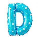 Balon Nama Warna Biru