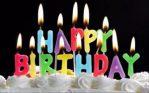 Lilin Happy Birthday Warna Warni